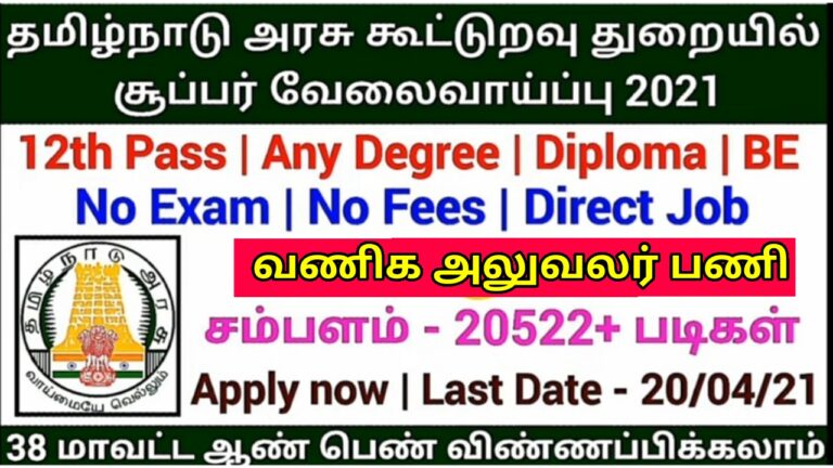 TRIFED Recruitment 2021 | Commercial Executive | 12th Pass ...